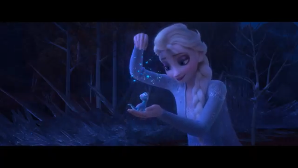 A scene from the new movie Frozen 2.